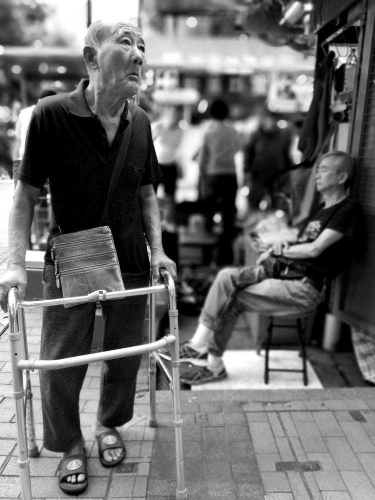oldman, portrait, human, streetphotography - lovin2018 | ello