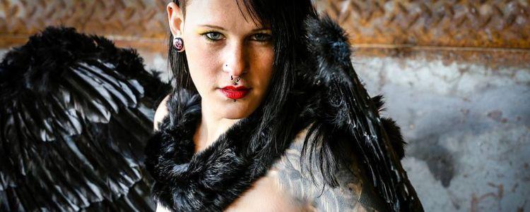 Makeup Hairstyle fallen angel s - severinesaladin | ello