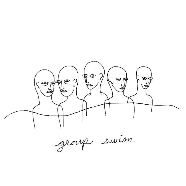 group swim - ocean, wereinit, illustration - catswilleatyou | ello