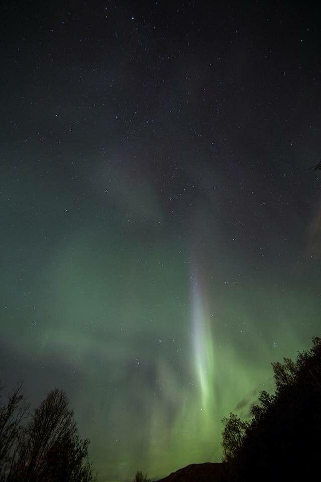 Aurora Borealis Submitted Lucky - aspynski | ello