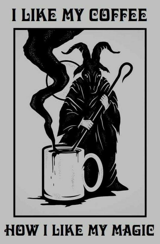 Ave Satanas! Hail Coffee - acido_binario   ello