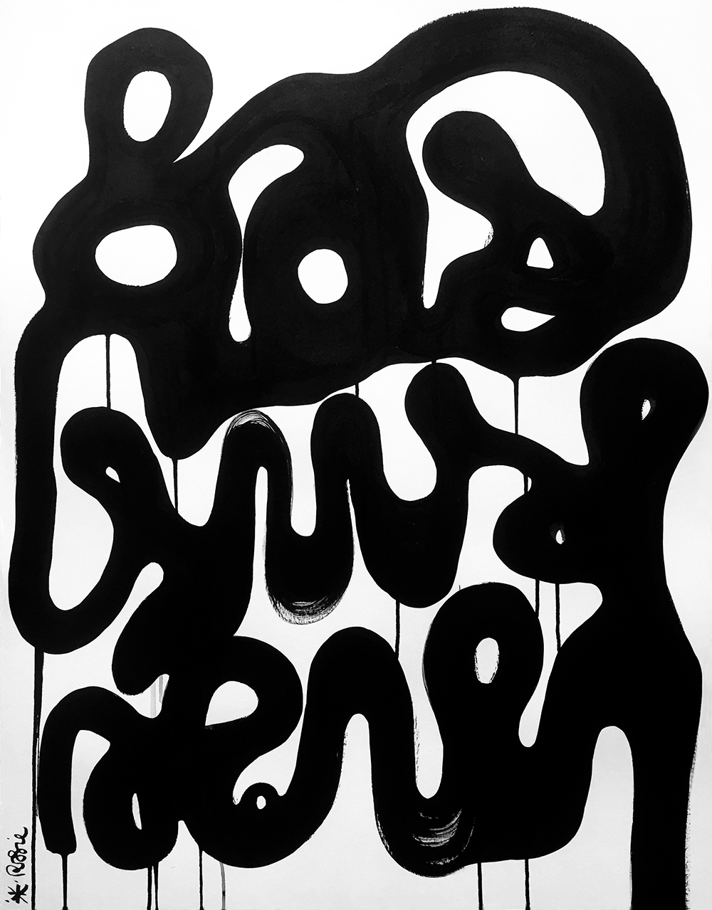 Black white mood - Ink paper 50 - berenice_rosie | ello