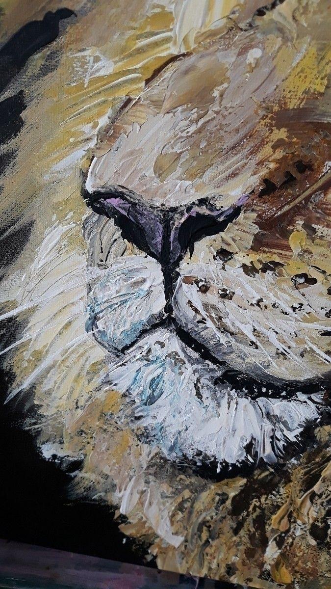 cleoart#paletknifeart, painting - cleoart | ello