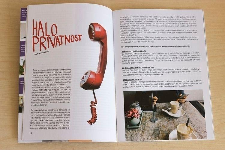 layout magazine, created hand-l - isabellabubola | ello