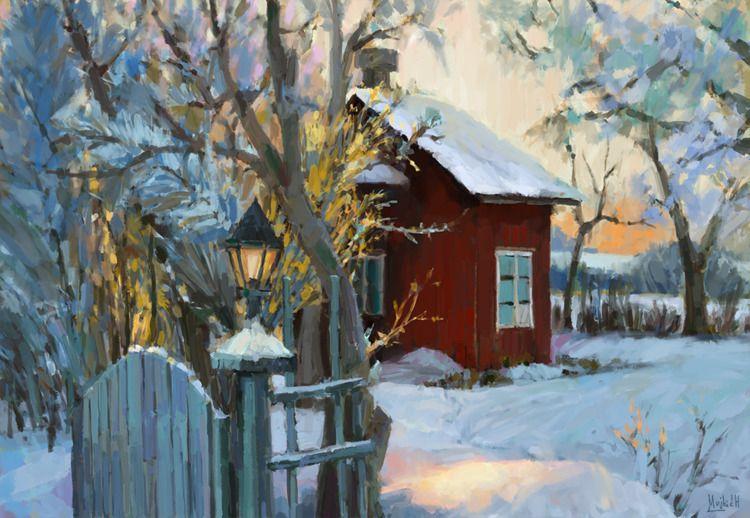 Winter harmony Sketch, photo st - mujkicharis | ello