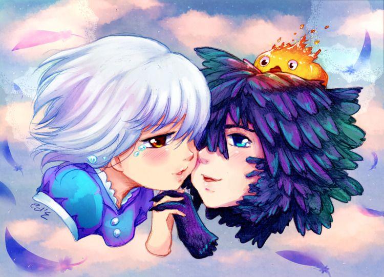 Moving Castle piece colored Cam - princessmisery | ello