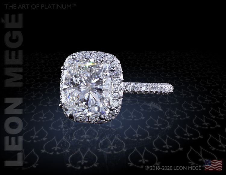 Designer platinum engagement ri - leonemege | ello