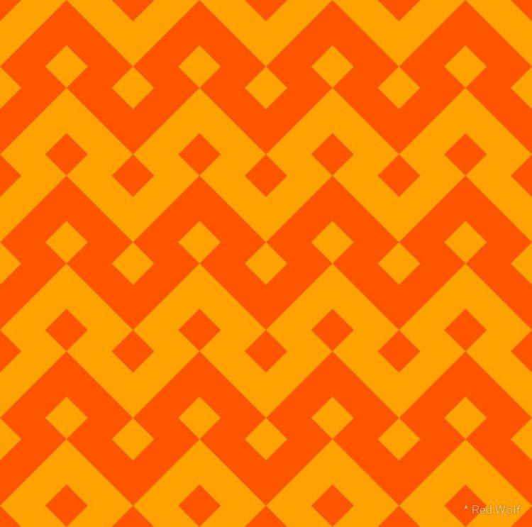 Geometric Pattern: Heavy Loop D - red_wolf | ello