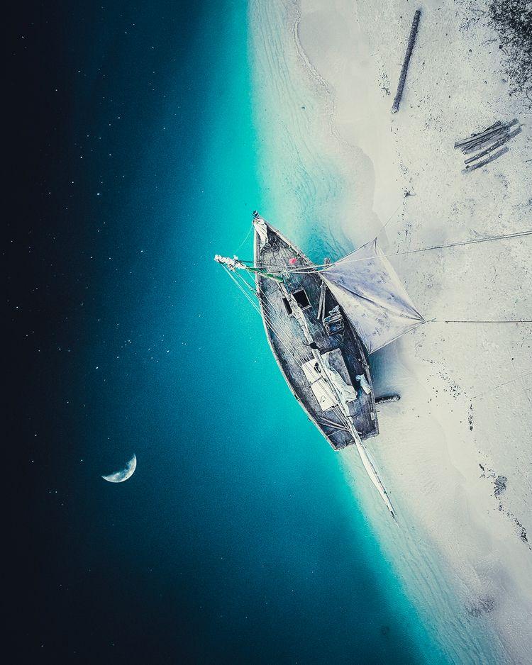 Sail Space - art, photography, surreal - jstnptrs | ello