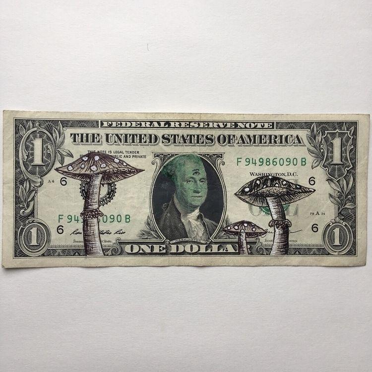aliens invade, money // ink acr - laurelshada | ello