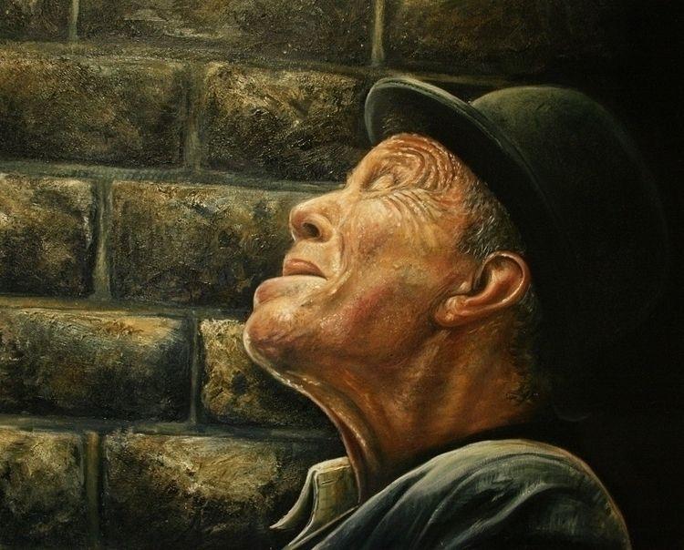 Tom Waits Michael Piper Oil can - michaelpiper | ello
