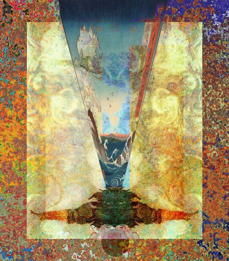 Monet Van Gogh Hiroshige Mashup - stevesherrell | ello