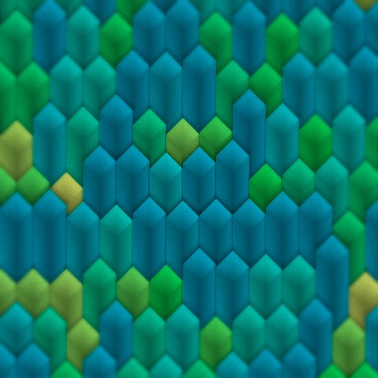 Azulejos Wrong - generative, processing - armdz | ello