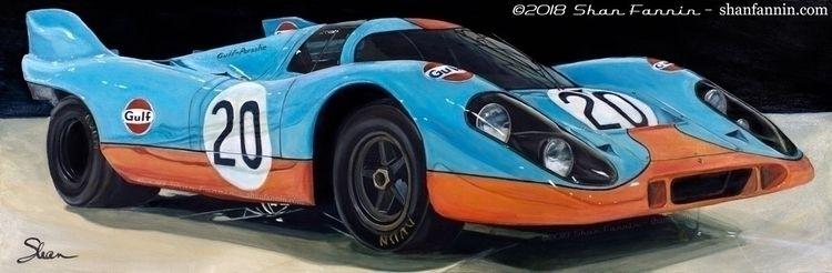 1969 Porsche 917K, 20x60, acryl - shanfannin | ello