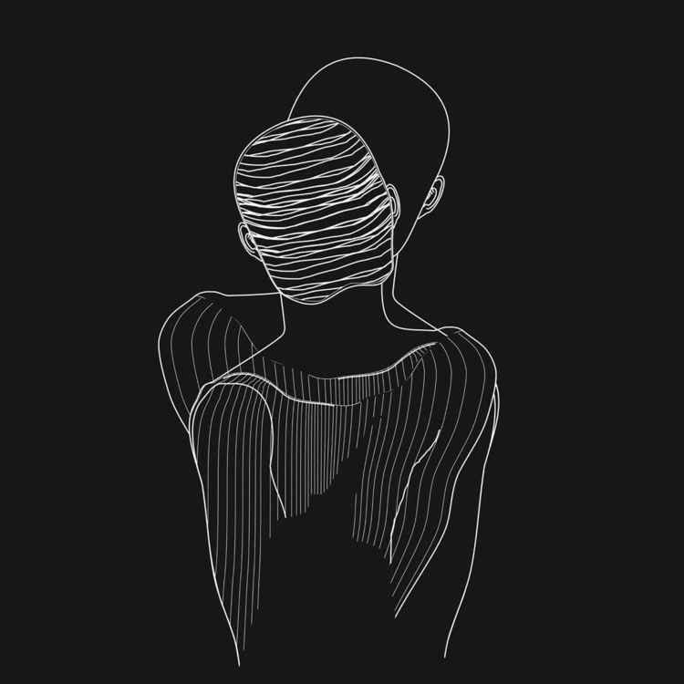 IllustrationArt | Nos/otros - illustration - ciruelomarti | ello