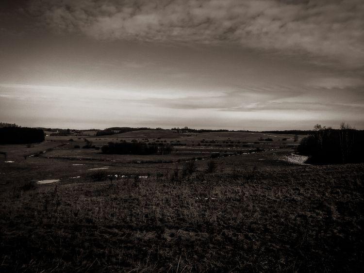 field, horizon, nature, lithuania - beheroght   ello