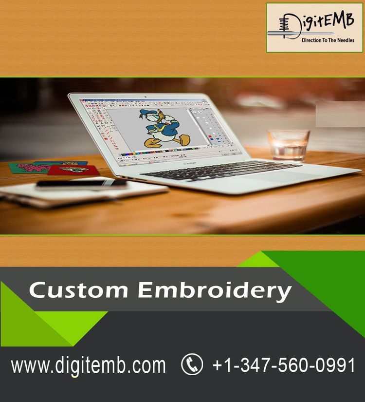 Custom Embroidery art decoratin - embroiderycustom | ello