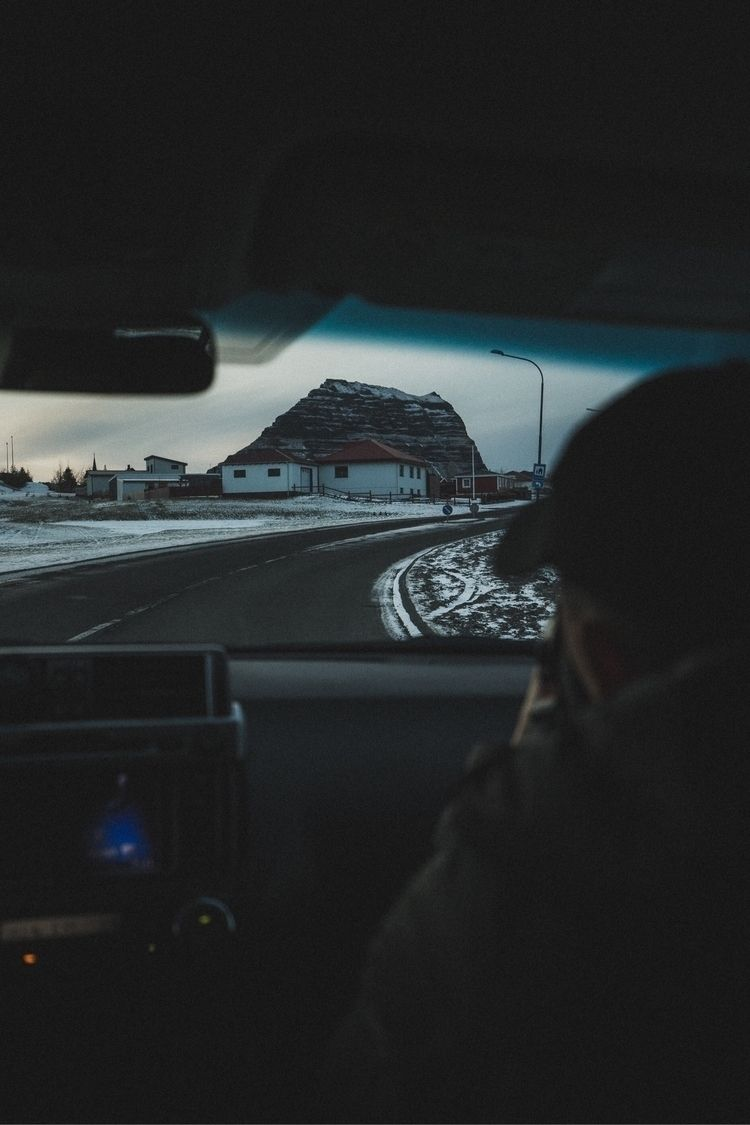 trip Kirkjufell iceland :)  - photo - rusticatlas | ello