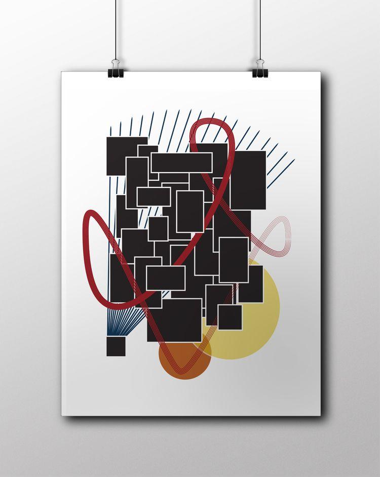 Spotlight - abstract, art, brush - ozdebayer | ello