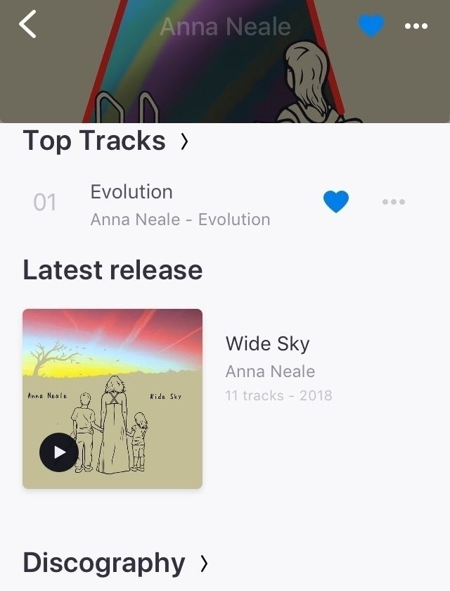 Wide Sky TODAY - widesky, newmusicfriday - annaneale | ello