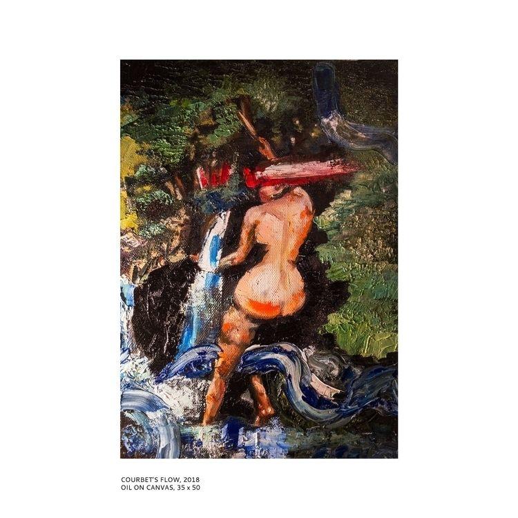 FLOW - oil painting inspired Gu - valerijandre | ello