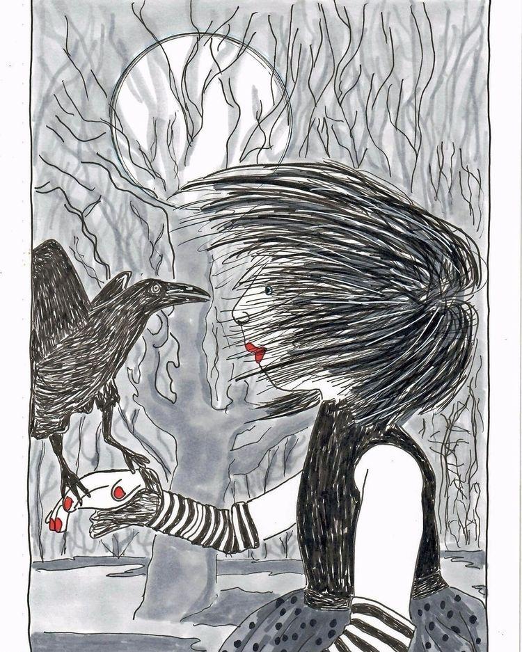 Lucy crow - comics, graphicnovel - theresa_williams | ello