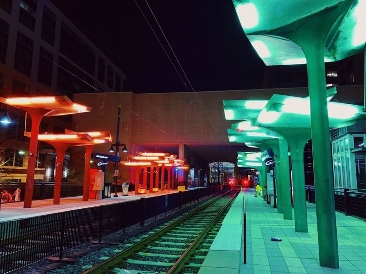 Light rail Downtown Charlotte,  - oscillatingchristal | ello