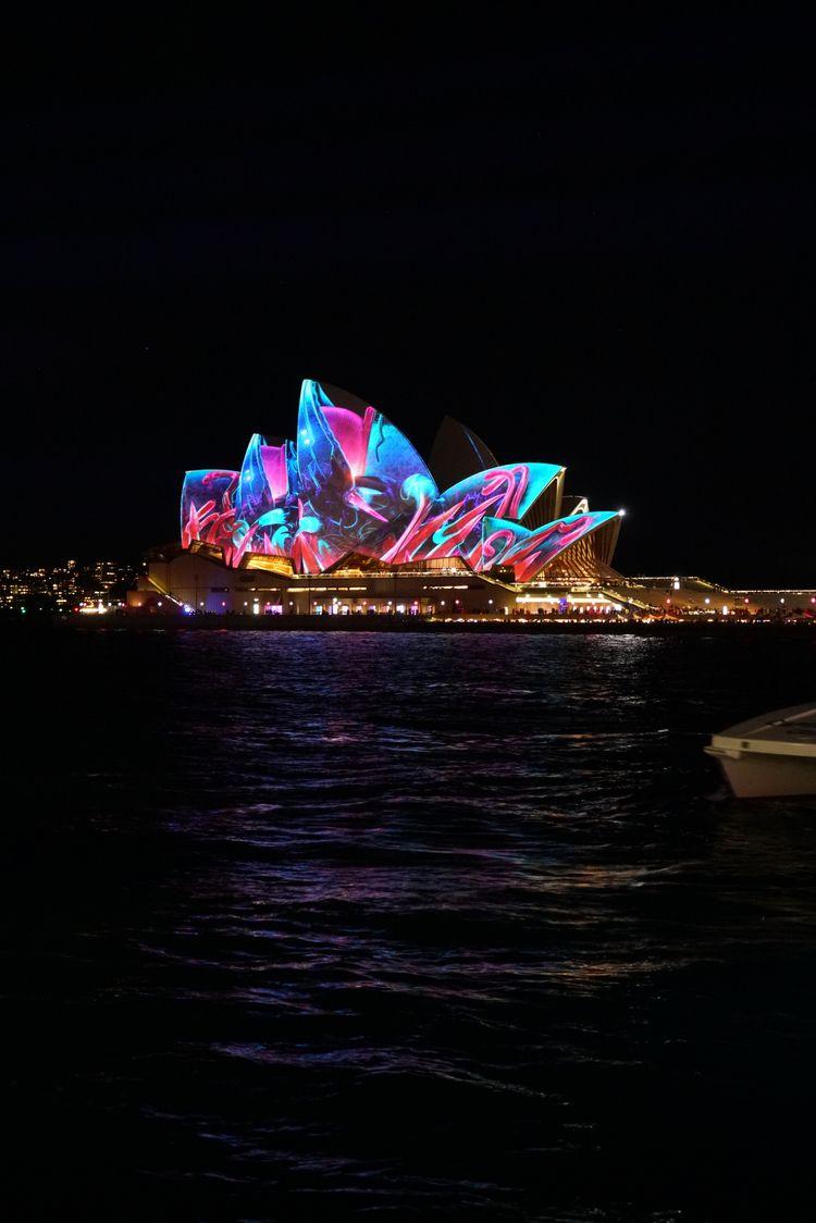Sydney Opera House Vivid 2017.  - digibeta | ello