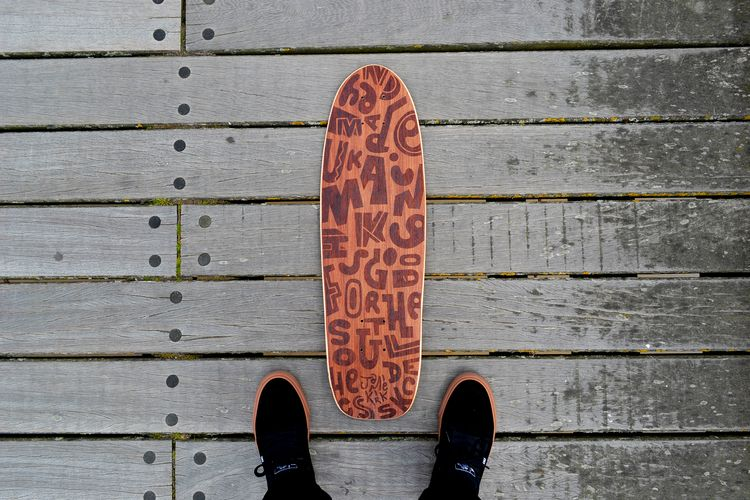 collaboration handmade skateboa - jamiekirk | ello