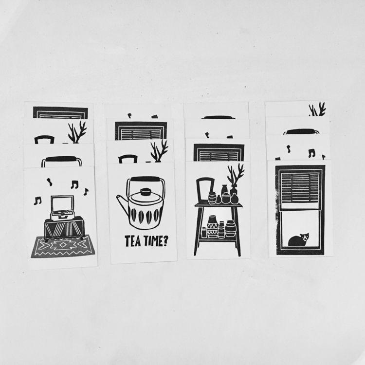 series 'home' Pakje Kunst - studiomalu | ello