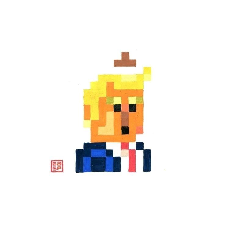 Pixel Dump. Acrylic paper - juanjogasp   ello