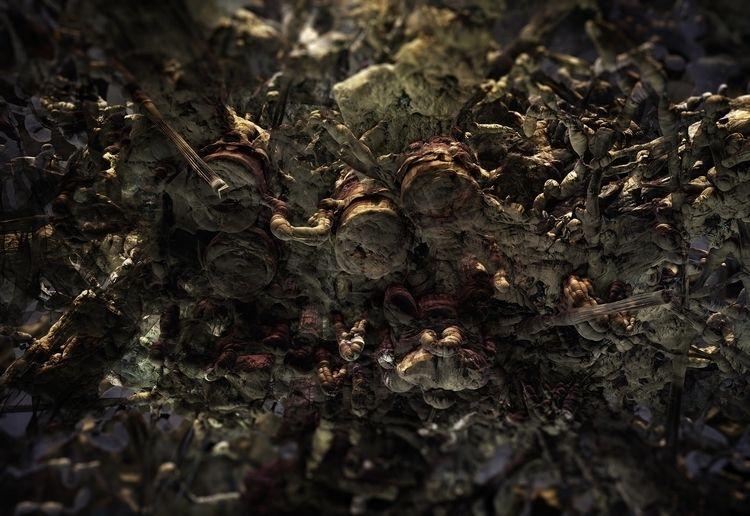 Fungus Antarktika. Digital Pain - nangokuma | ello