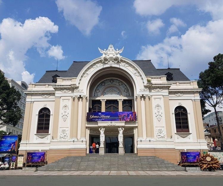 Saigon Opera House, Bến Nghé - colonial - sezzyharris | ello