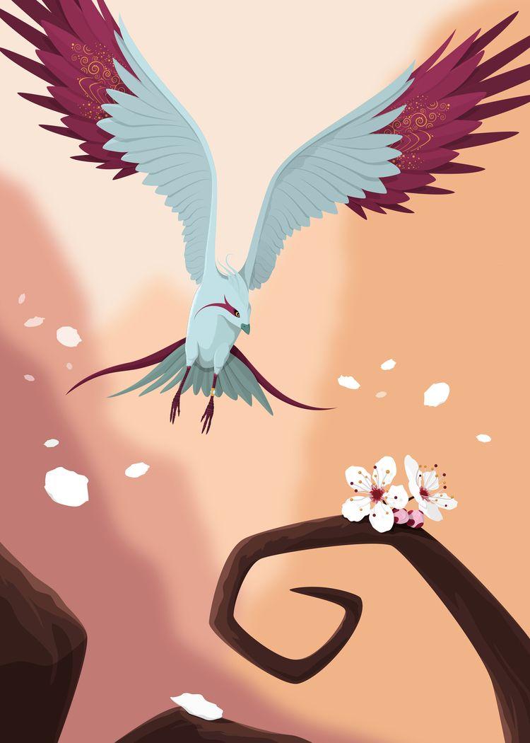 Discovery | Imaginary Birds  - illustration - stefrosselli | ello