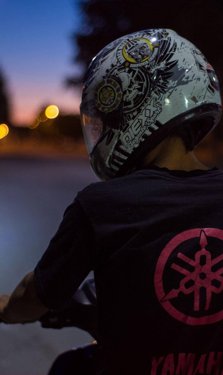 Yamaha, Motorcycle, Sky, Sunset - yemzem | ello
