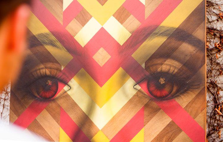 Painting wood, 2015 series  - vparisi | ello