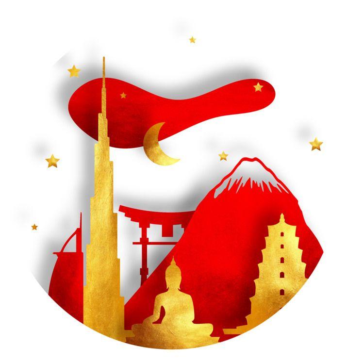 Asia globe - gonzaleztash | ello