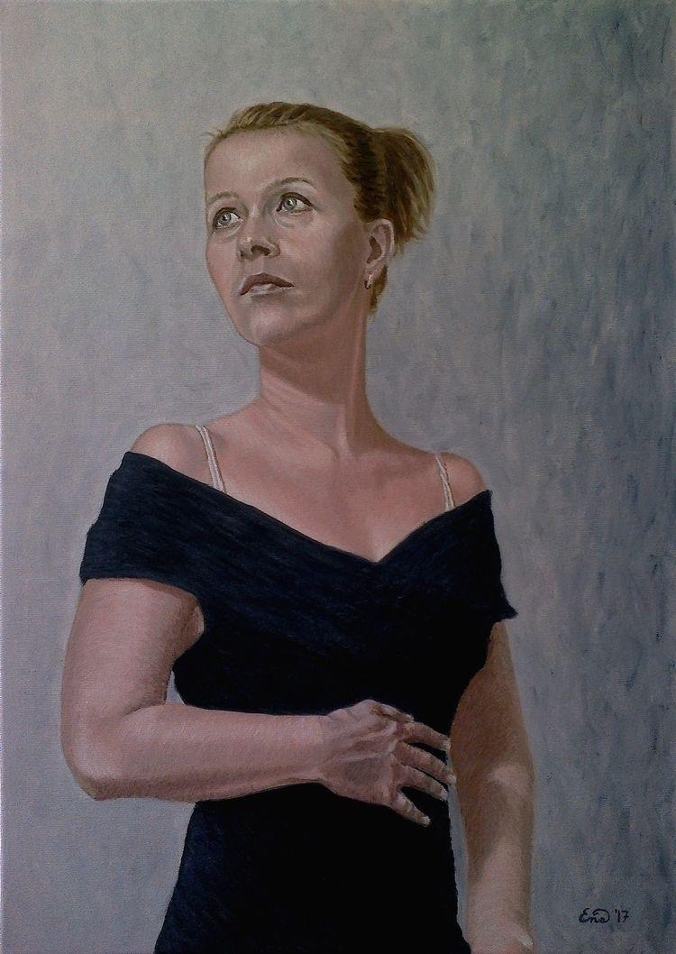 HONESTY selfportrait artworks.  - enavarsavikova | ello