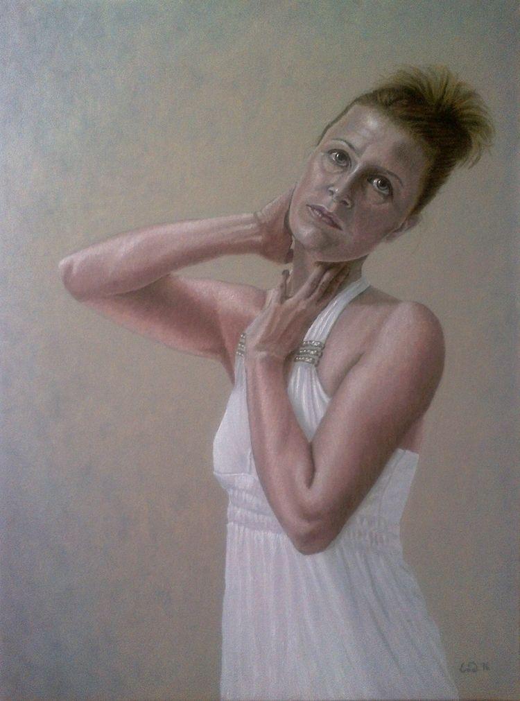 selfportrait artworks. Oil canv - enavarsavikova | ello