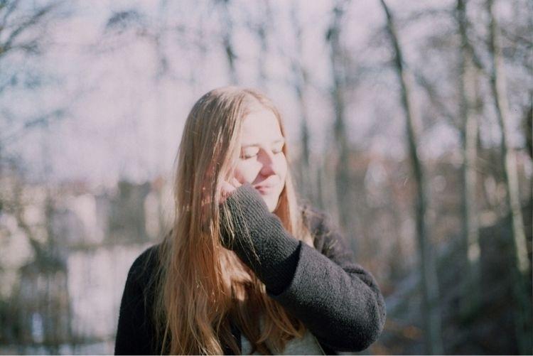 girl, girlsonfilm, filmphotography - bbluerabbit | ello