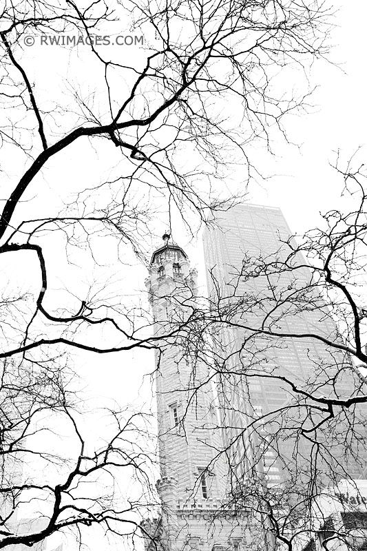 WATER TOWER MICHIGAN AVENUE WIN - robert-wojtowicz-photography | ello