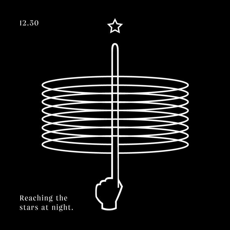 Reaching stars - design, graphic - funskurstjens | ello