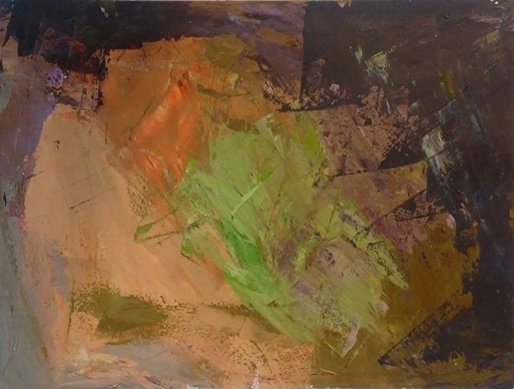 Sand Green 9x12 Oil Paper - robinccpoole | ello