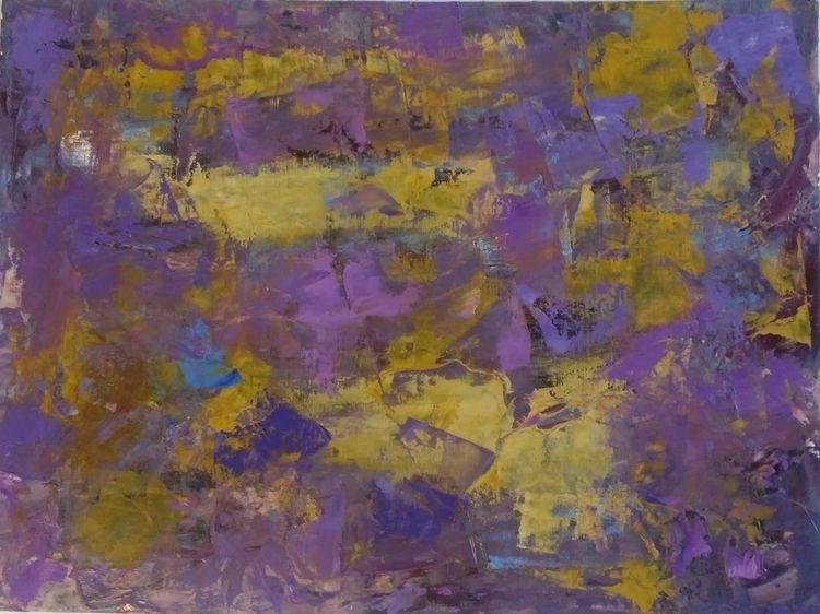Title: Purple Gold Robin Croker - robinccpoole   ello