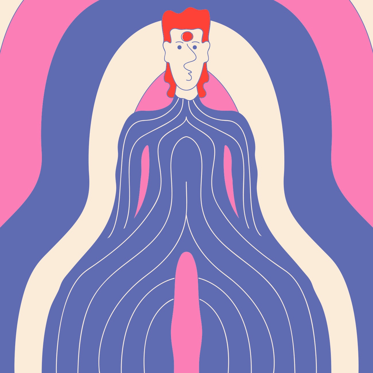 BOWIE - illustration, davidbowie - david_palma | ello