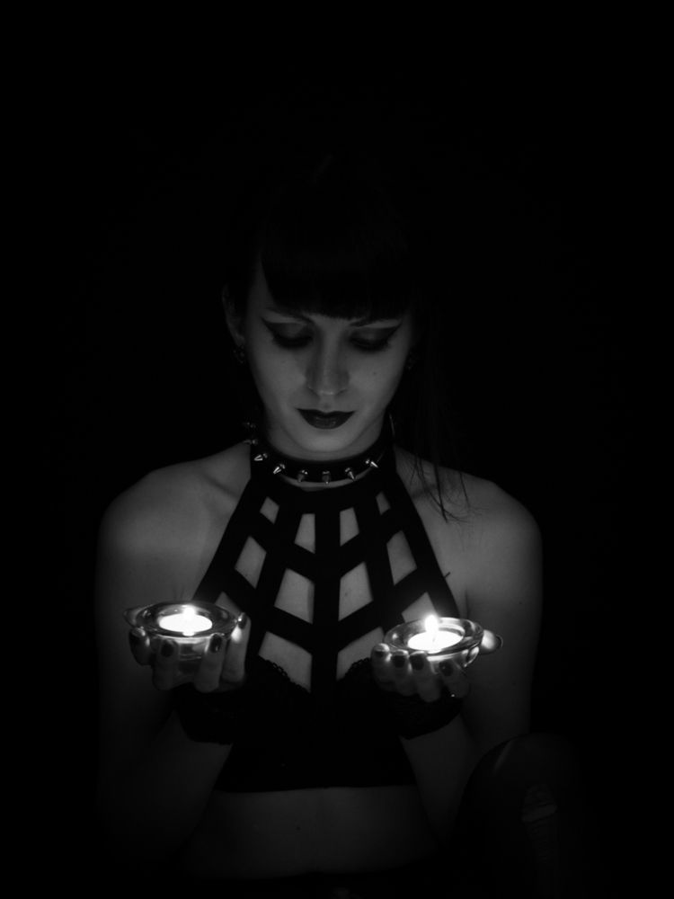 photography, portrait, candles - darkenergyphotography | ello