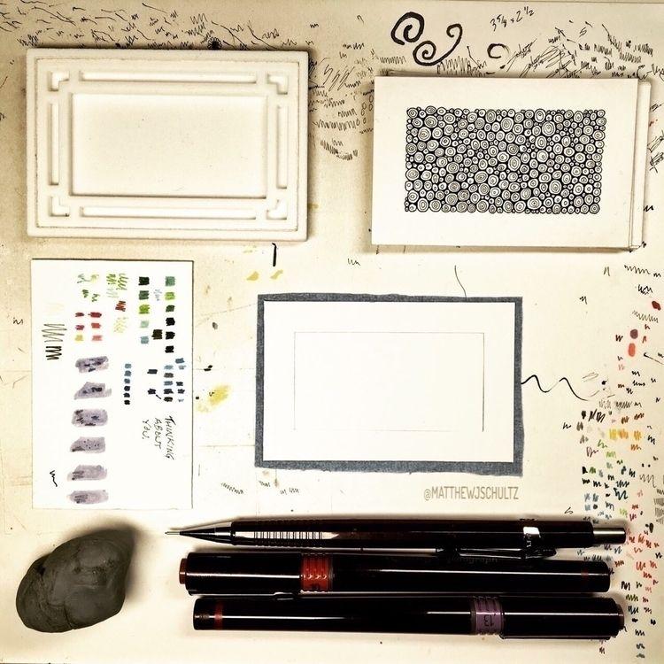 table.  - workshop;, drawing, art - matthewjschultz | ello