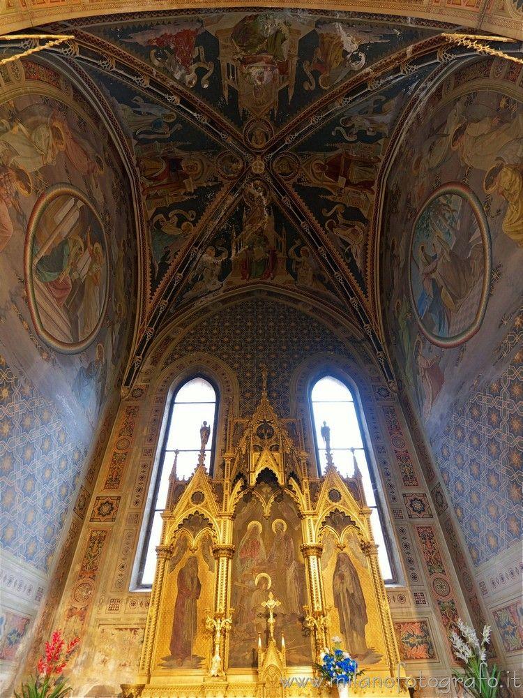 Milan (Italy): Interior Chapel  - milanofotografo | ello