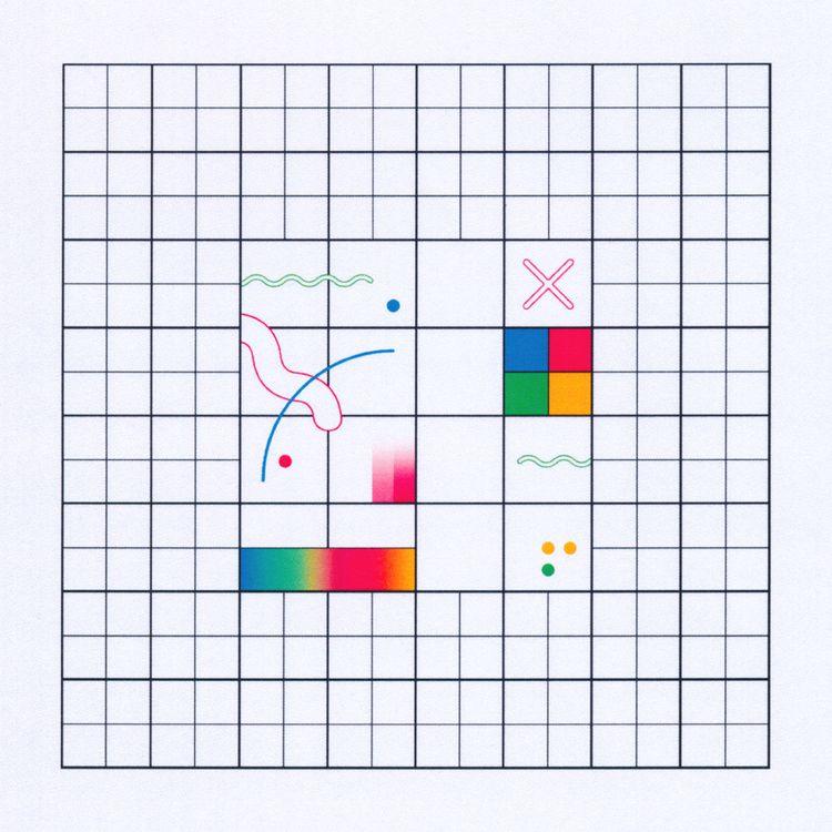 Grid 22 <3 - artwork, grid, design - lxtxcx | ello