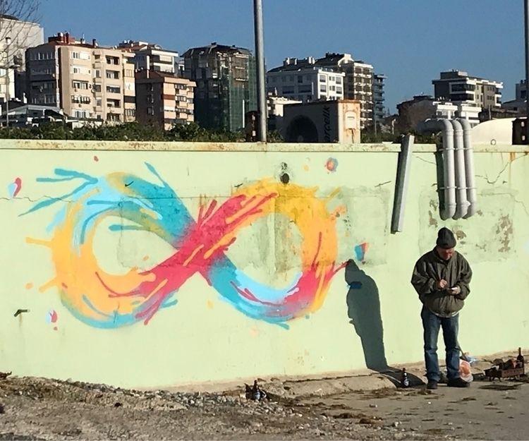 Mobius, life, shadow, graffity - mumjab | ello